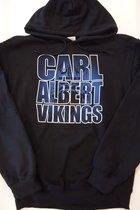 Hood Black w/Blue Carl Albert Vikings